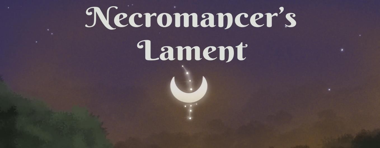 fantasy book necromancer's lament logo