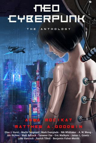 Neo Cyberpunk Anthology Book Cover