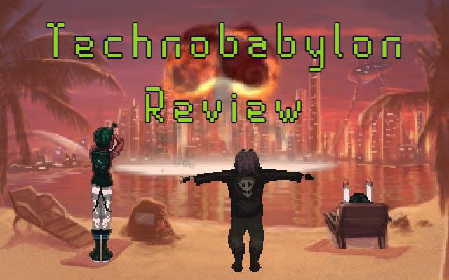 technobabylon cyberpunk video game review
