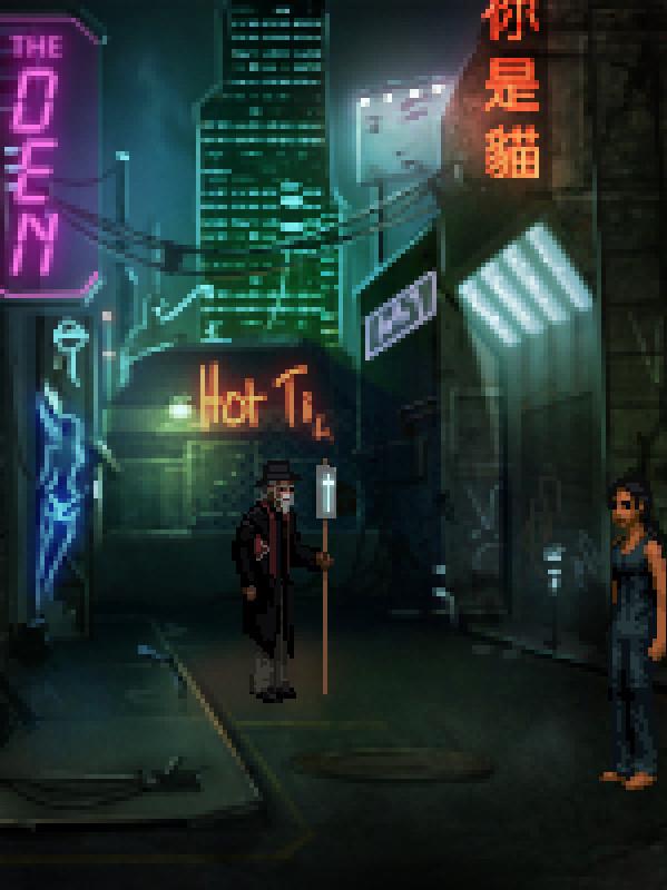 technobabylon cyberpunk game