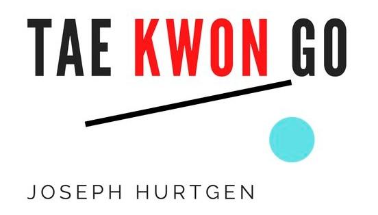 logo for postmodern book Tae Kwon GO