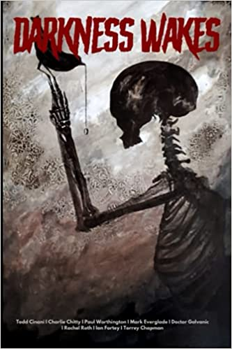 darkness wakes short stories cover of skeleton