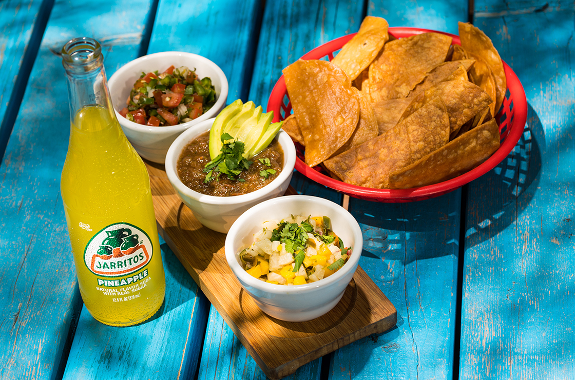 Nacho lunch set by El Cartel at Our Place