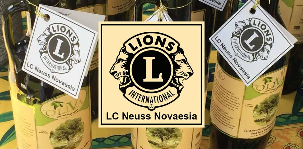 Lions Club Neuss Novaesia | Ein gutes Öl für einen guten Zweck