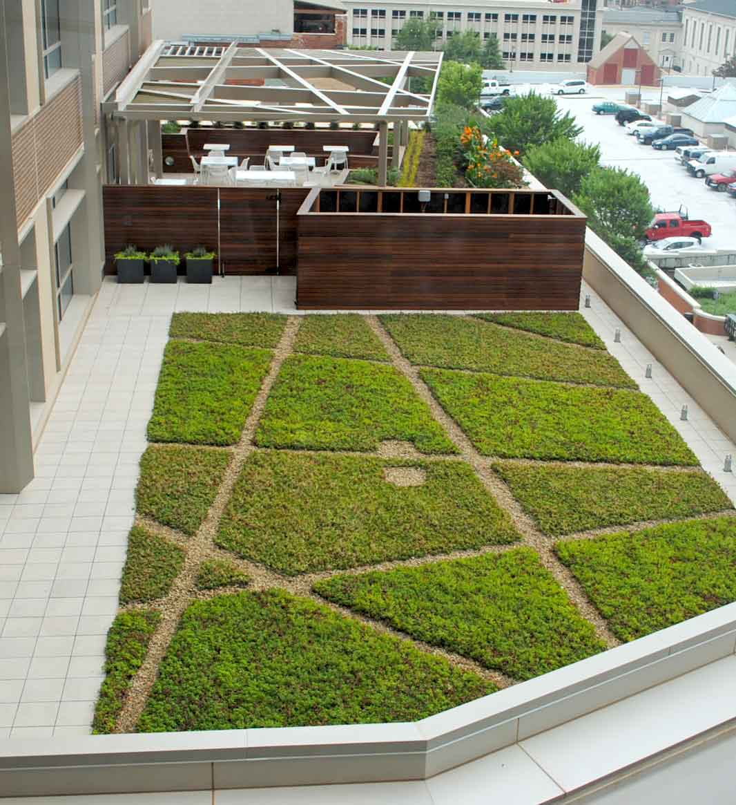 Green Roof Design + Installation :: Living Roofs Inc.