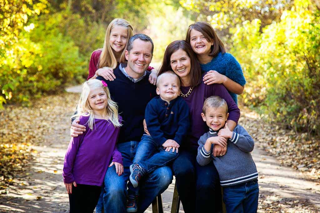Photo of Dr. Larsen Family