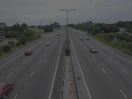 Scottish motorway photo