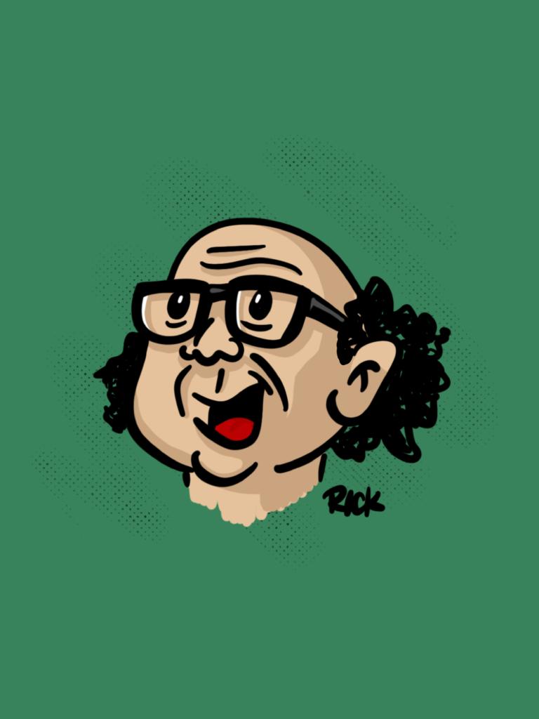 Frank Reynolds Always Sunny in Philadelphia - cartoon, illustration