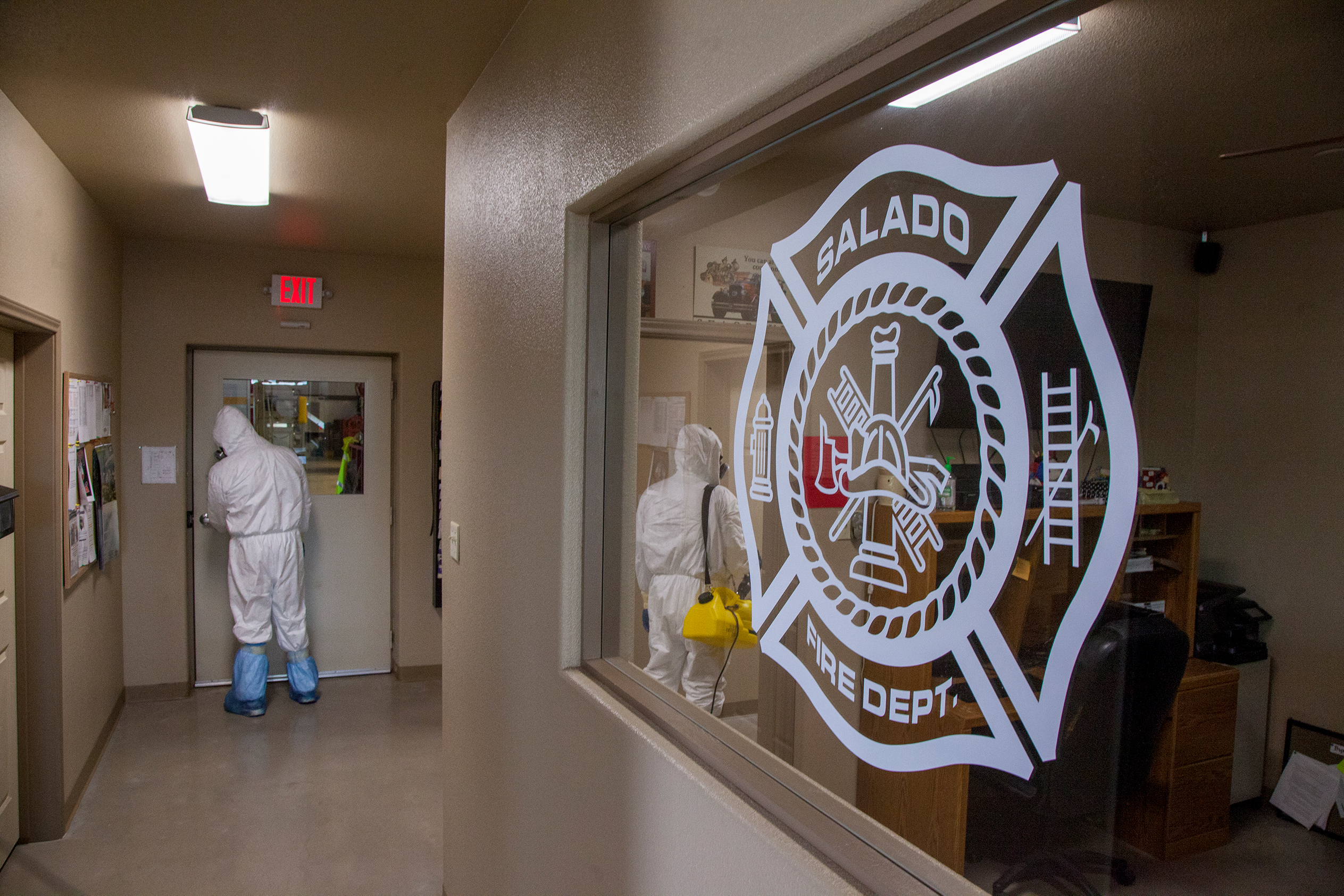 COVID Clean-Up at SVFD