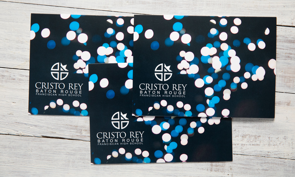 Small Format Christo Rey Invite