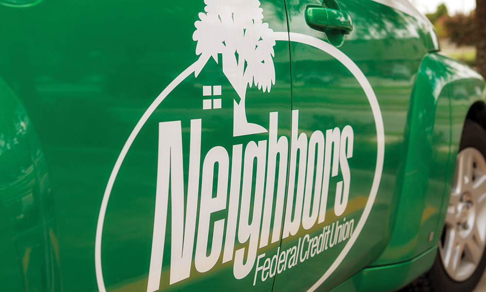 Vehicle & Fleet Graphics  Neighbor's Credit Union