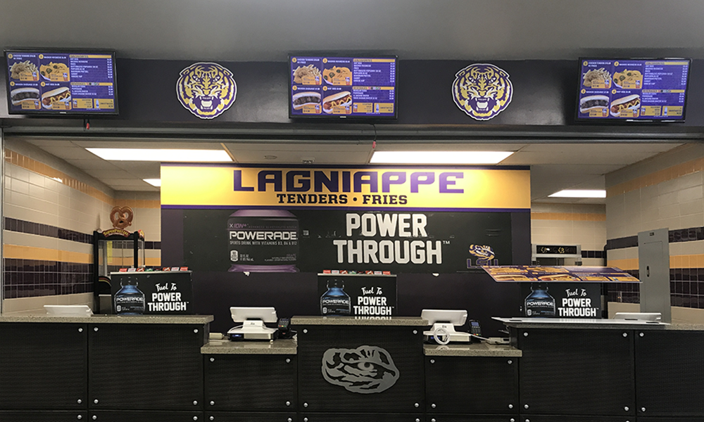 RETAIL GRAPHICS LSU Vending