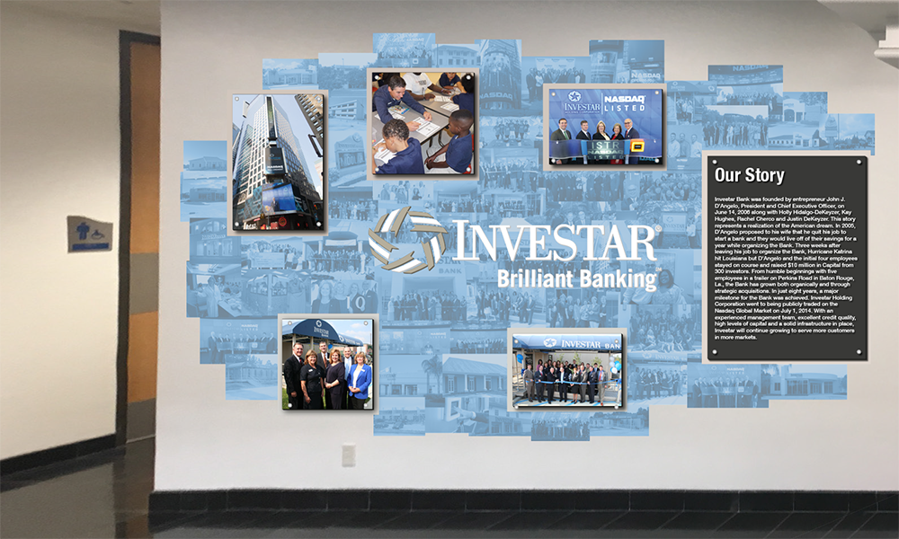 RETAIL GRAPHICS Investar Bank