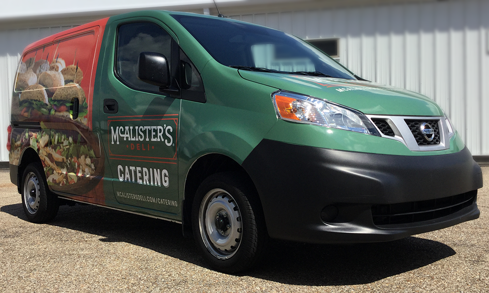 Vehicle & Fleet Graphics McAlister's