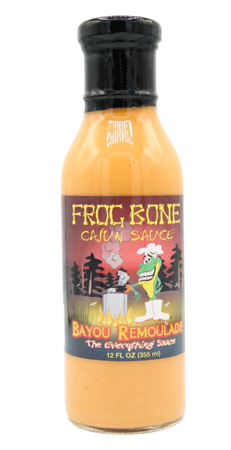 LABELS - Frog Bone Cajun Sauce