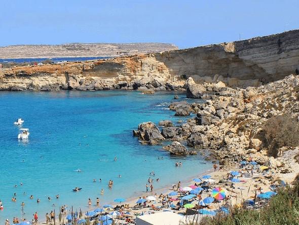 Maltská pláž