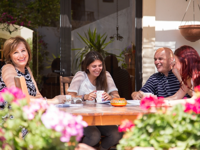 Studentky v hostitelské rodině, EC Malta