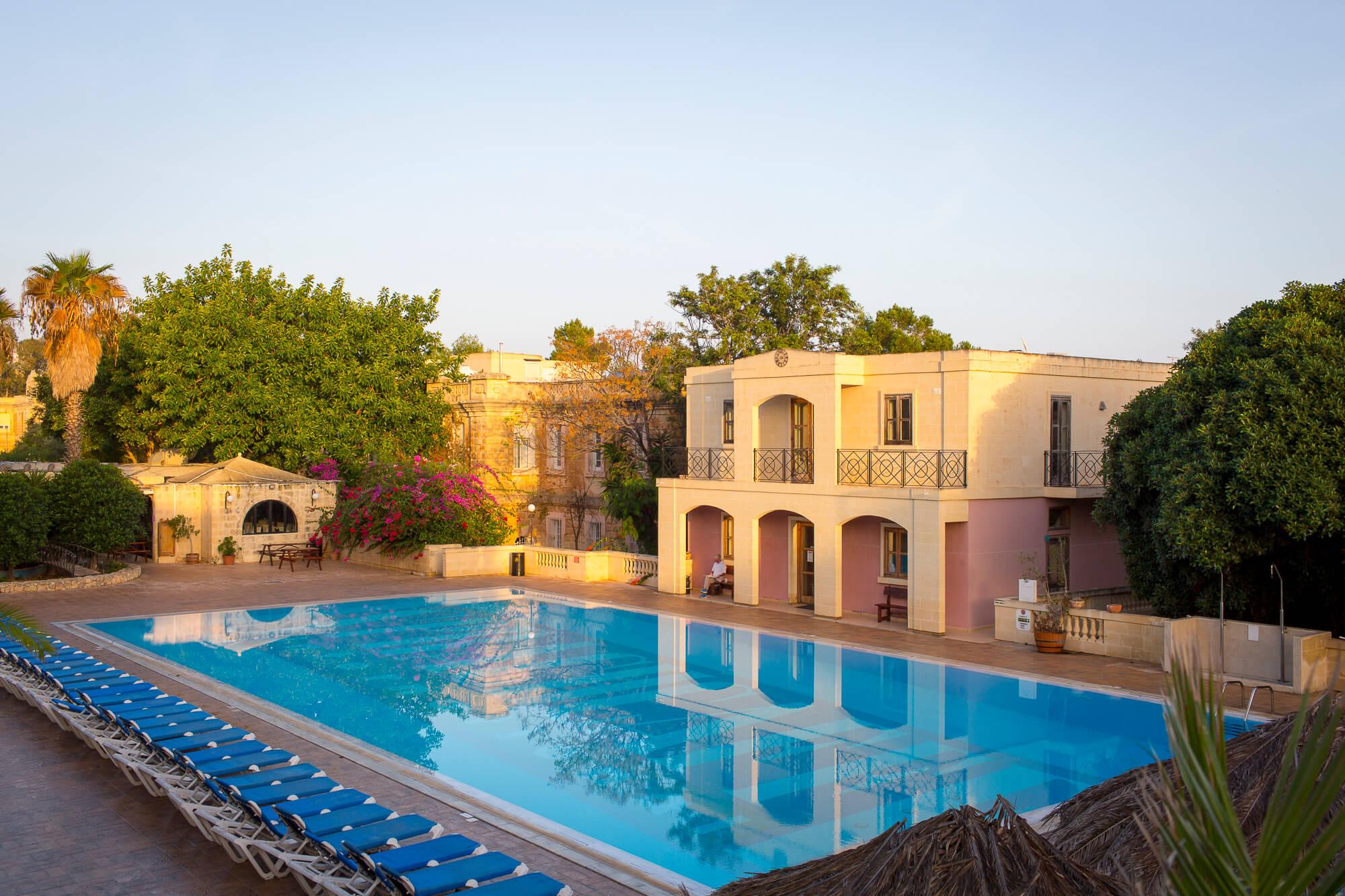 Bazén Sprachcaffe Malta
