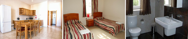 Apartmán comfort, Sprachcaffe Malta