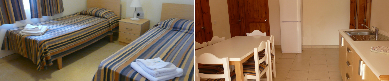 Standard apartmán, Sprachcaffe Malta