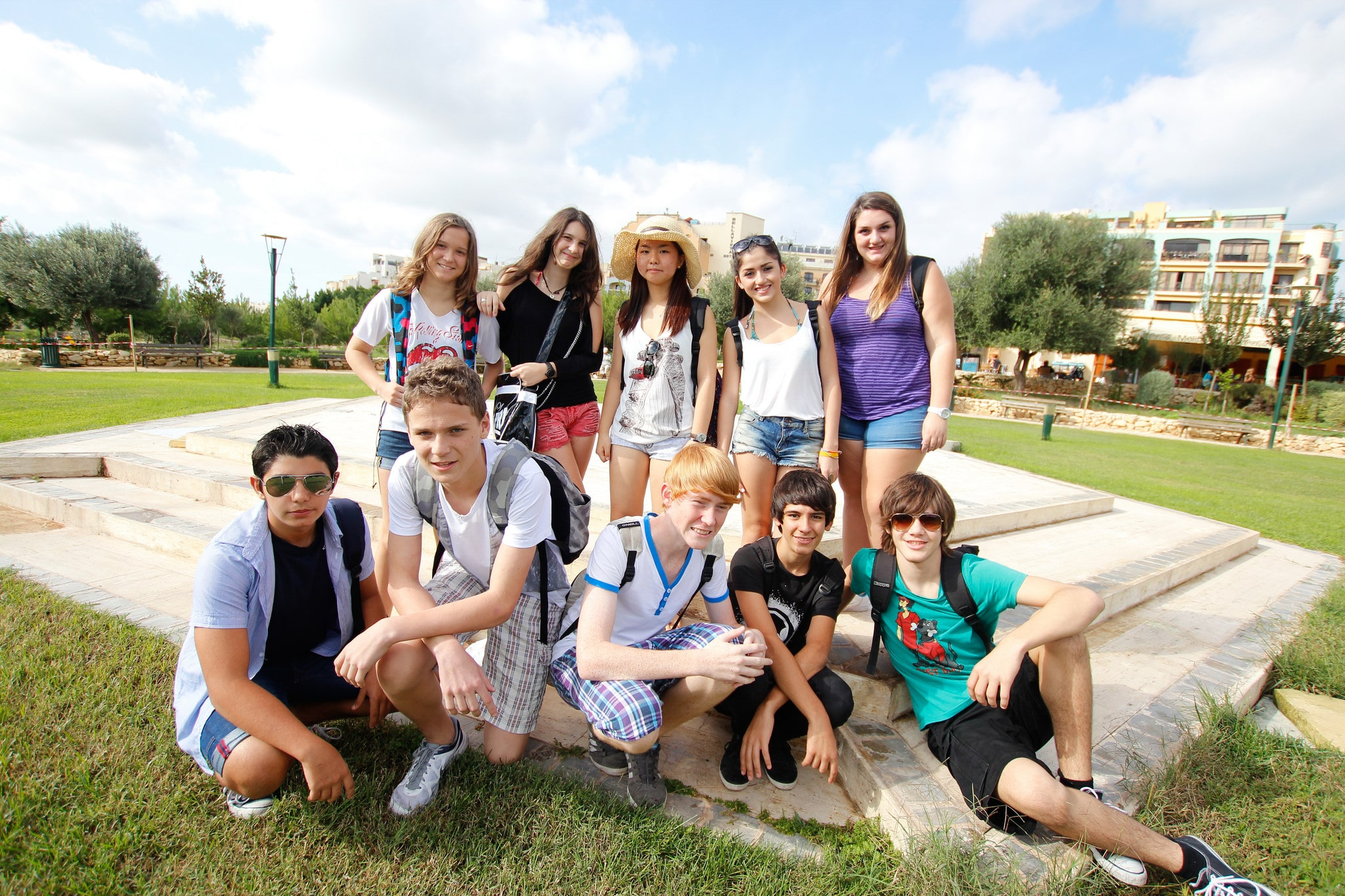 Jazykové pobyty pro školní skupiny