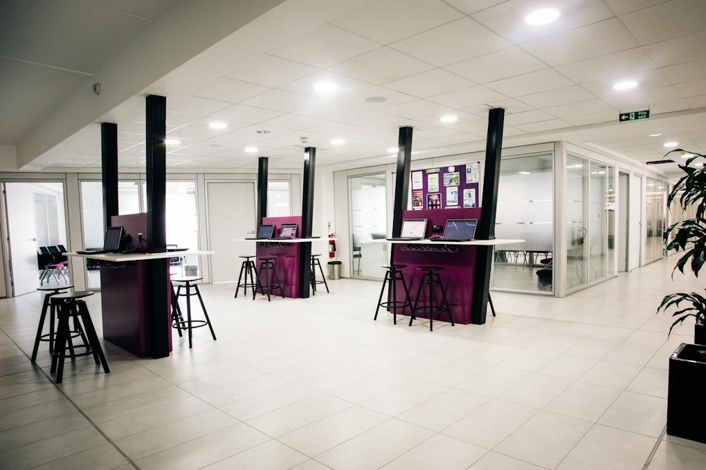 Internet café jazykové školy ACE Malta