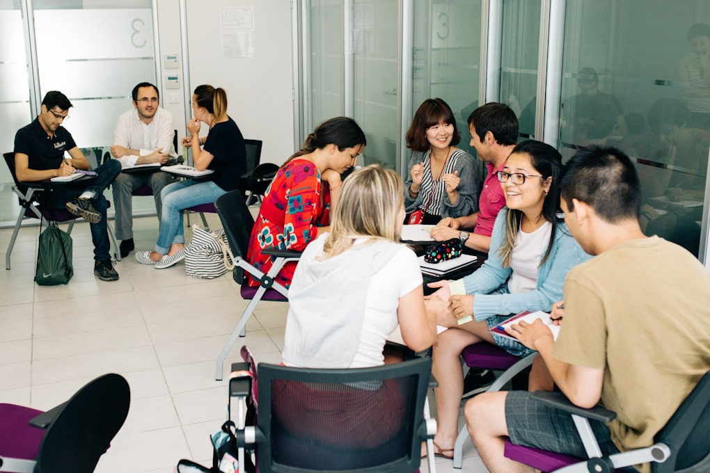 Výuka v ACE Malta