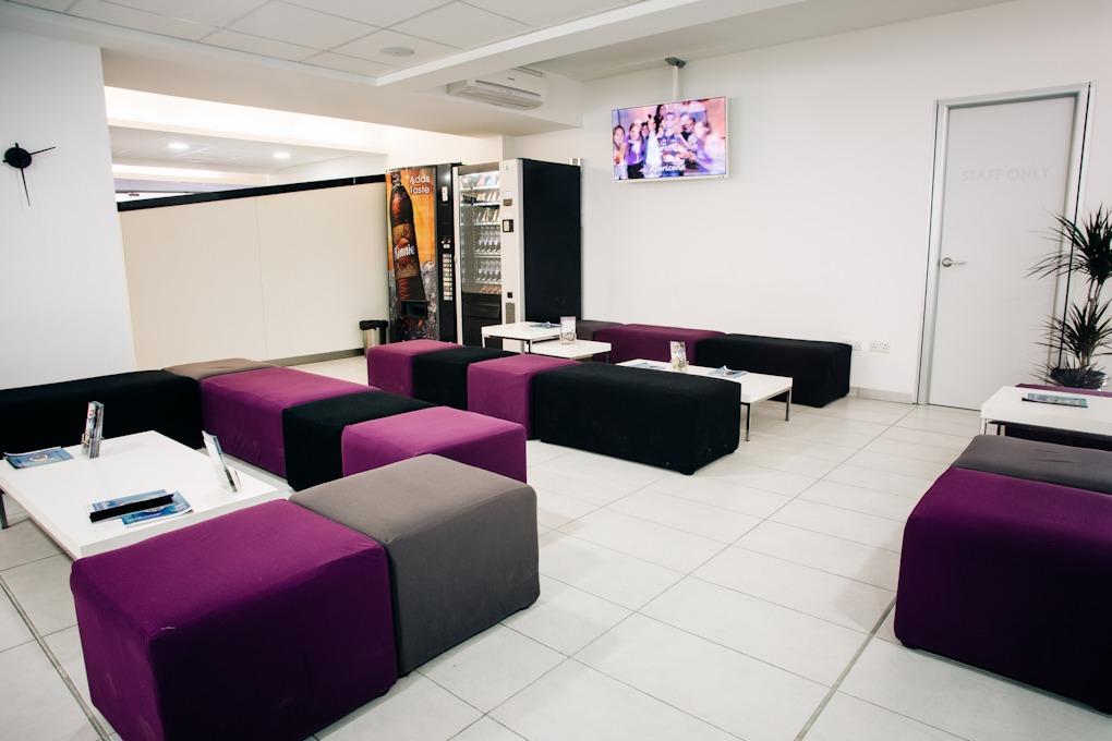 Odpočinkové prostory jazyková škola ACE Malta