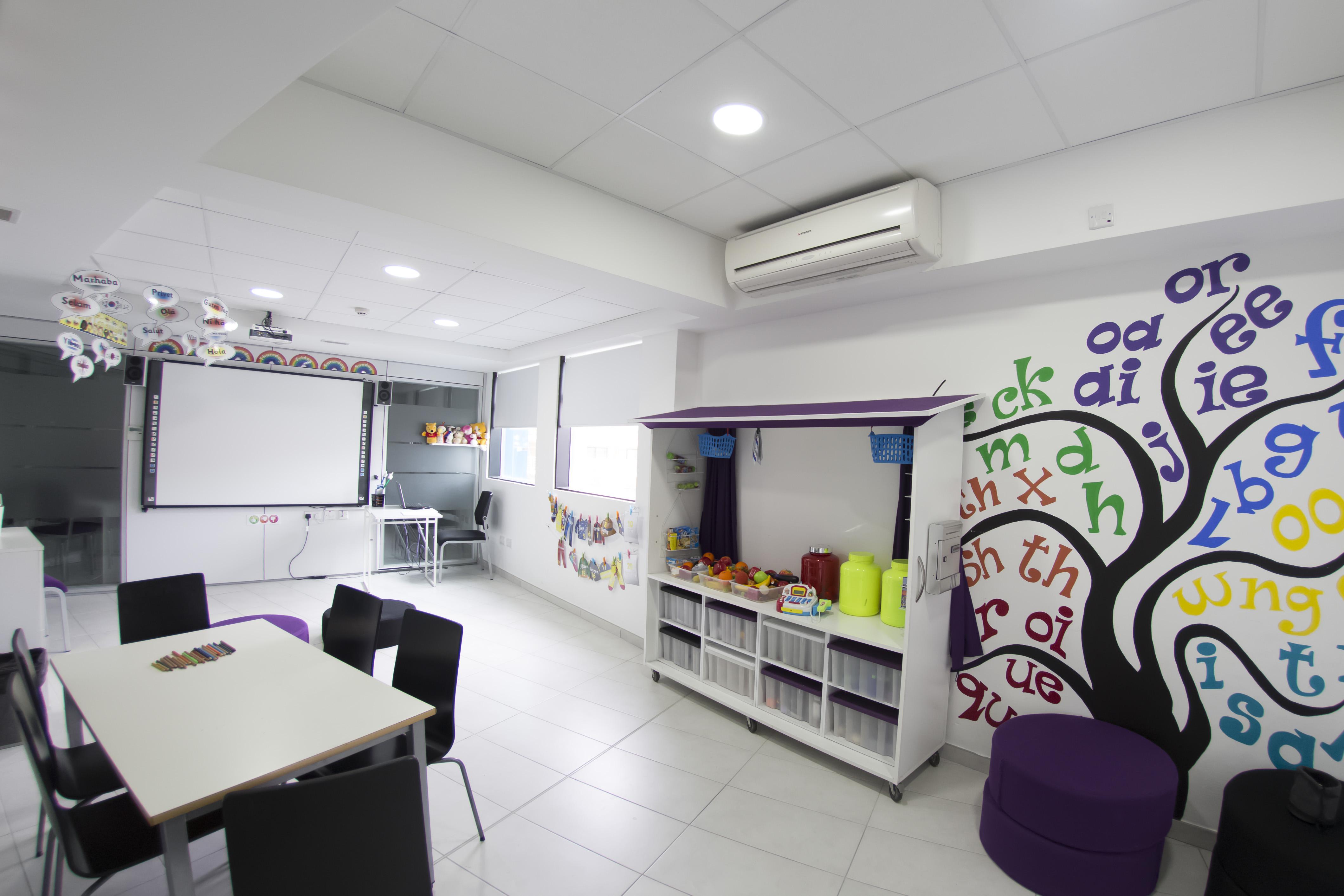 Učebna pro děti, ACE Malta