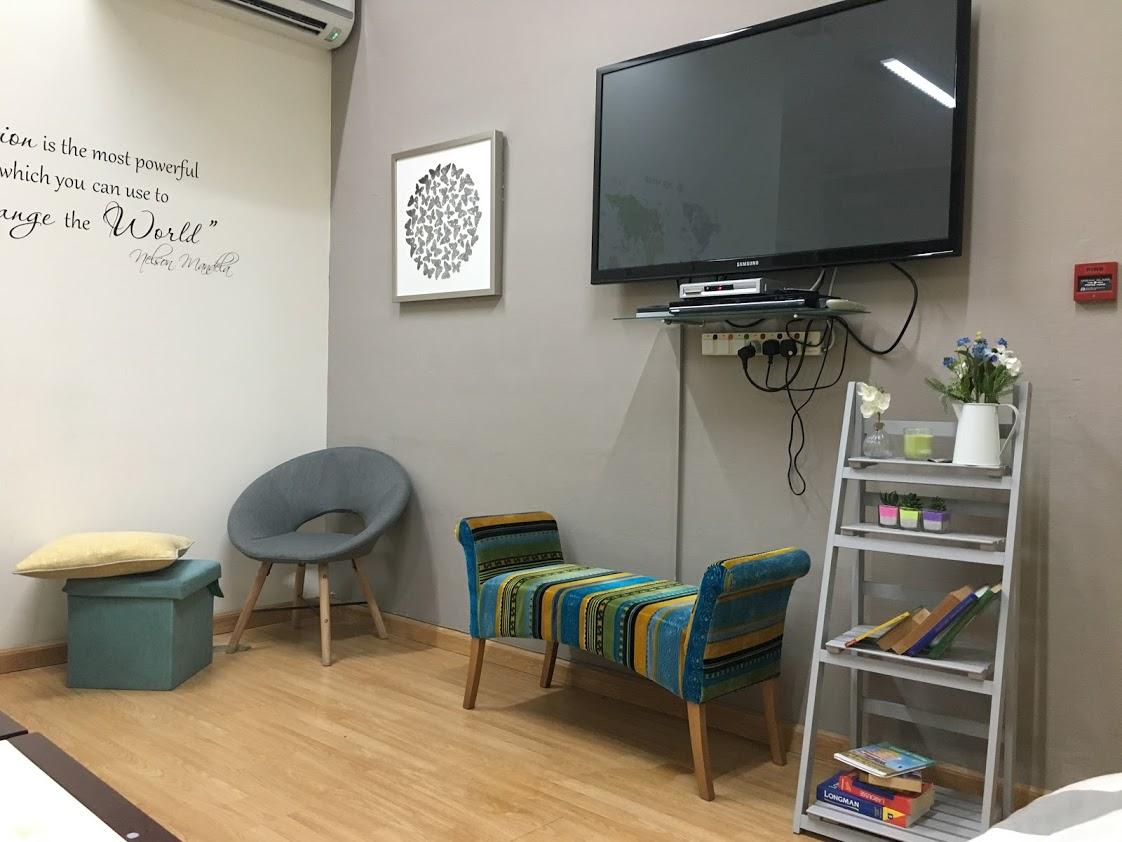 Odpočinkové prostory s TV, Aclass Academy