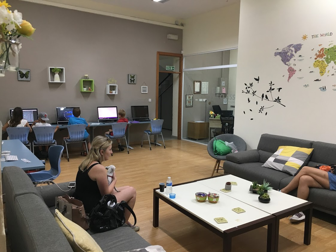 Odpočinkové prostory Aclass Academy