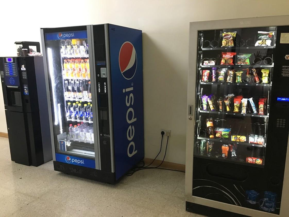 Prodejní automaty v Aclass Academy