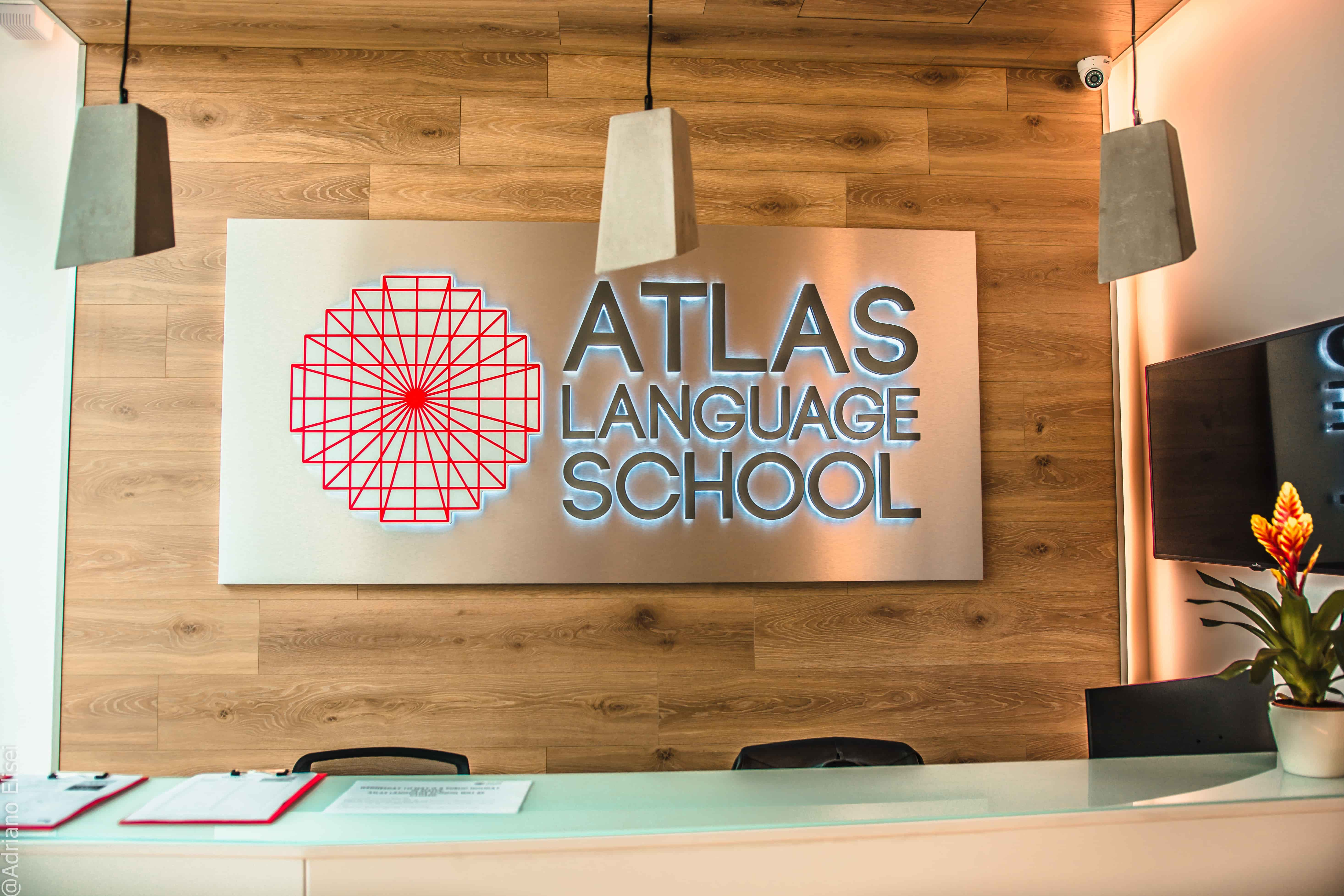 Recepce jazyové školy Atlas Malta