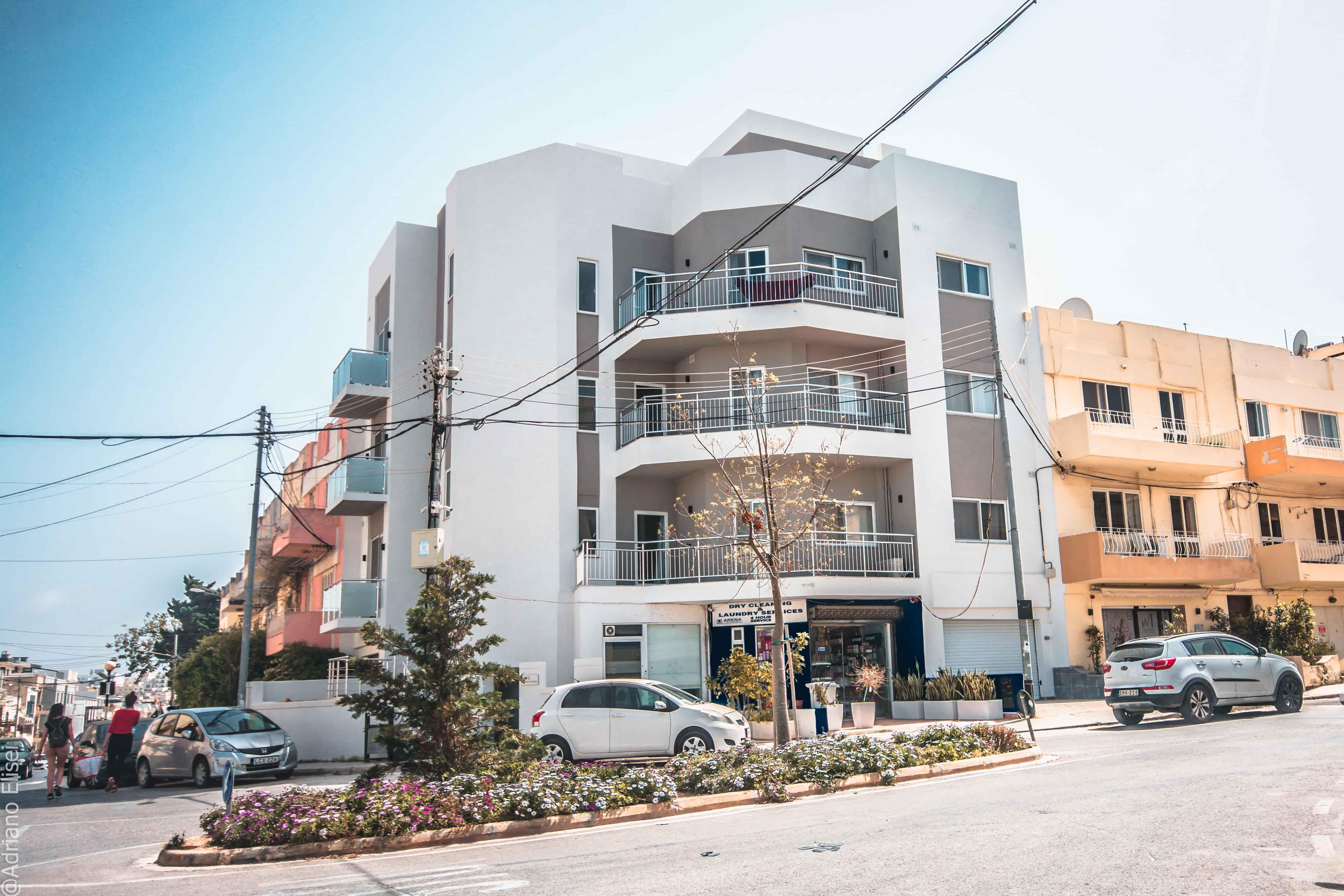 Budova školních apartmánů Atlas Malta
