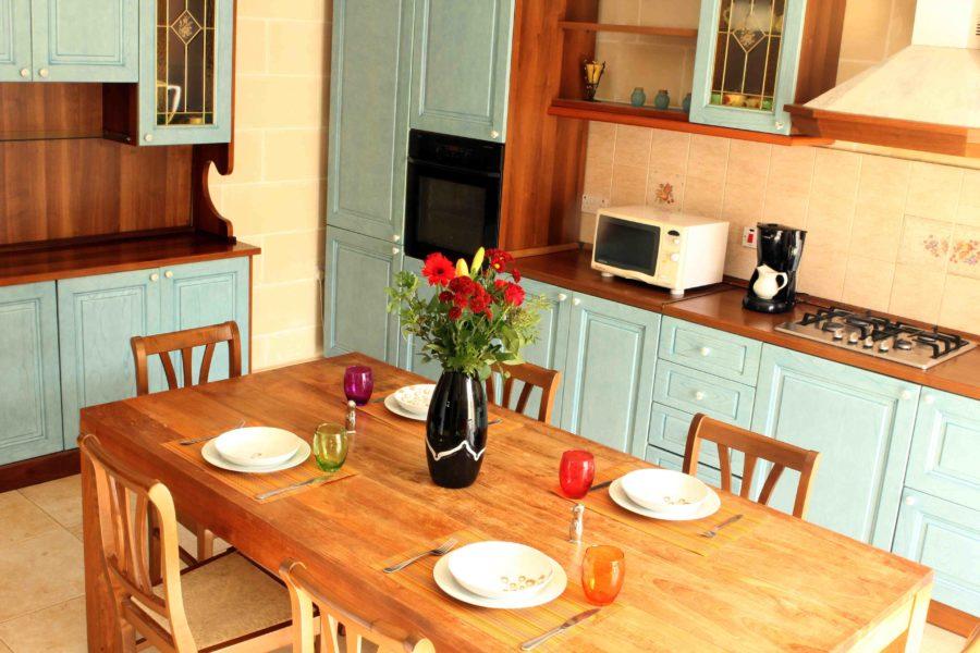 Kuchyně vv rezidenci Kappara