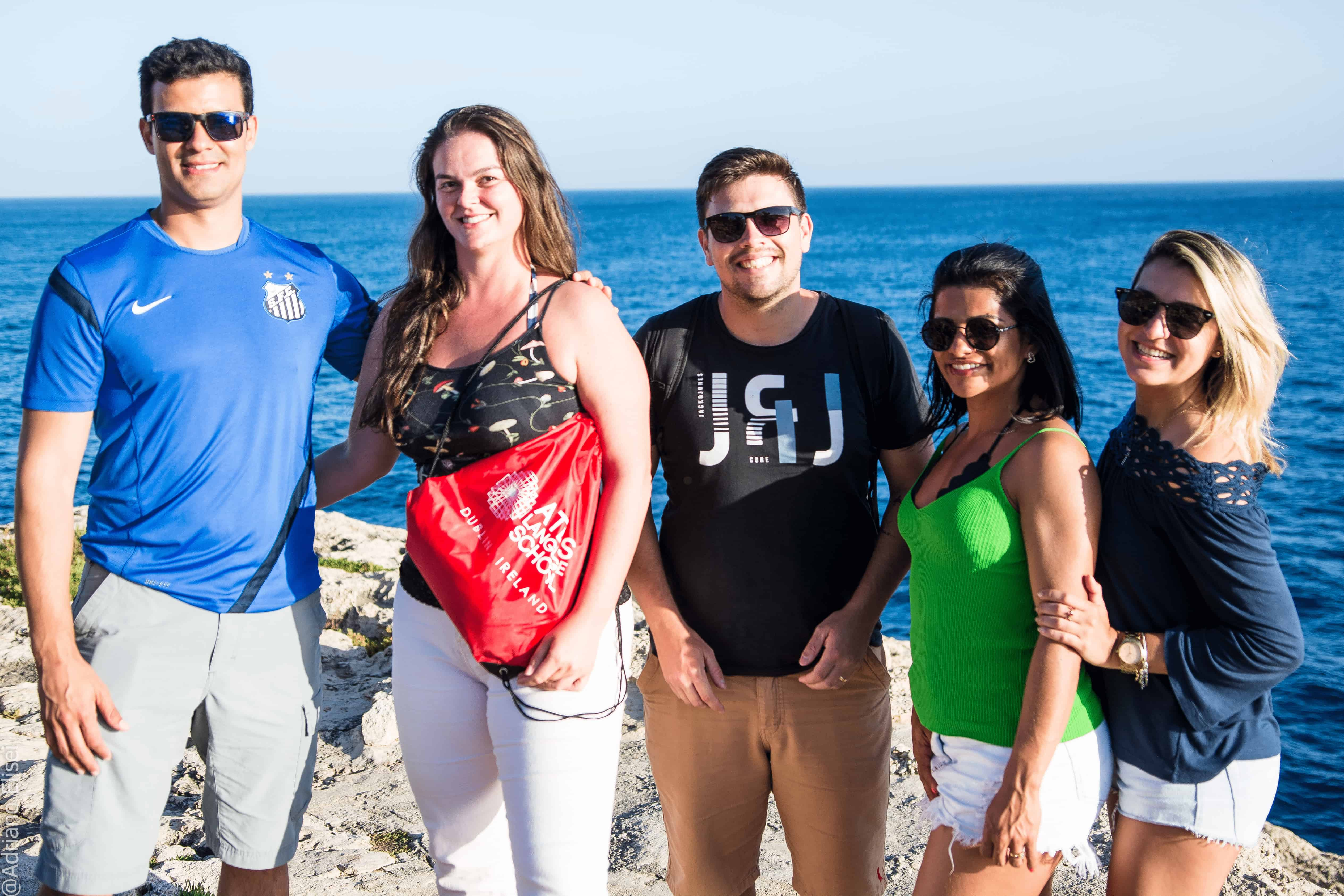 Studenti na výletě v rámci mimoškolních aktivit Atlas Malta