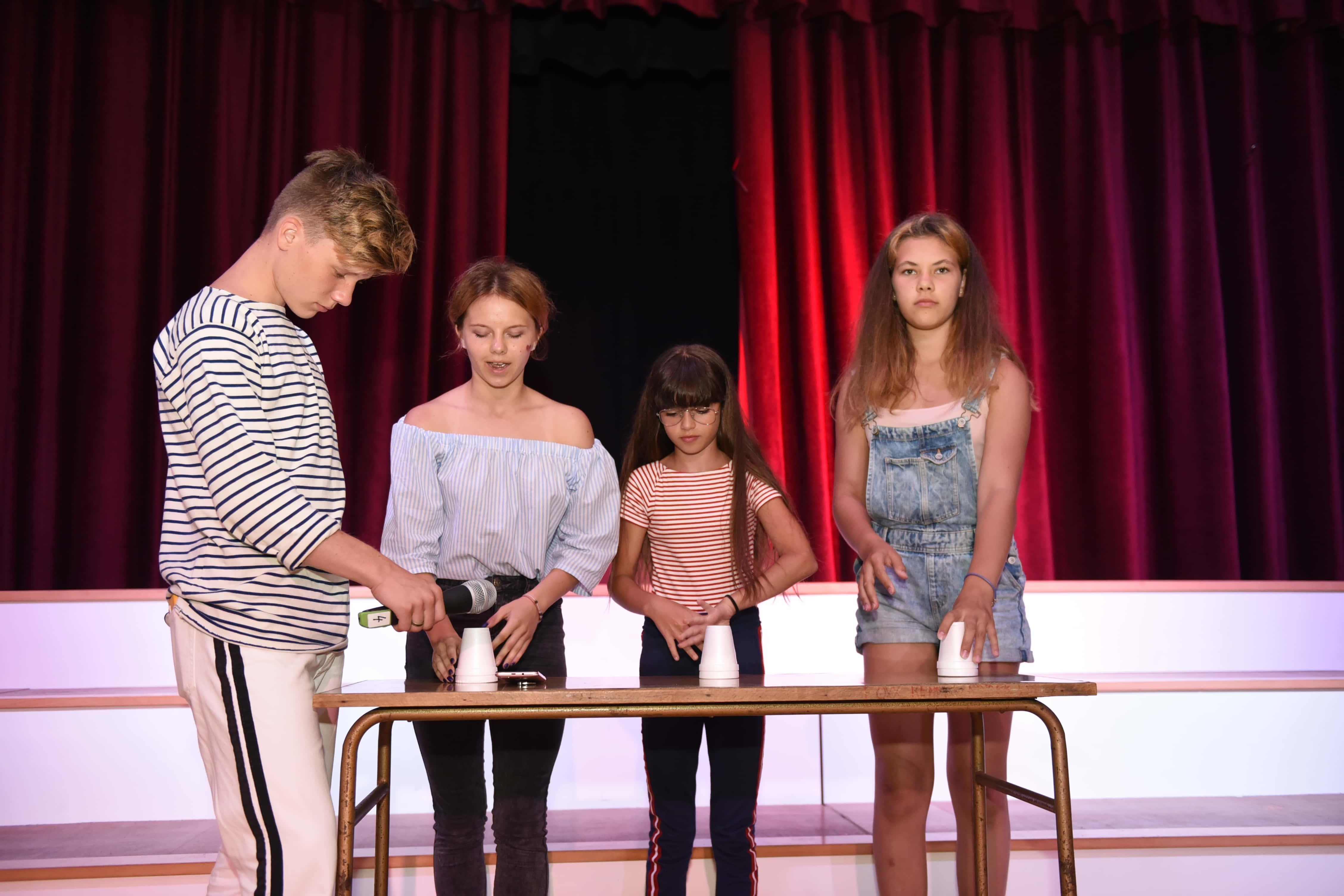 Večerní aktivity dětí, GV Summer Camp