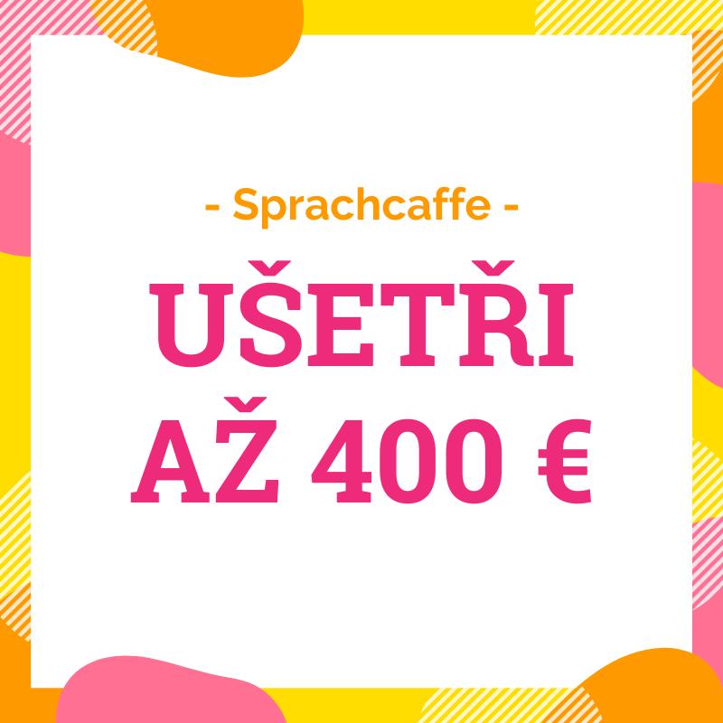 Sleva až 400 € na jazykový pobyt do Sprachcaffe Malta