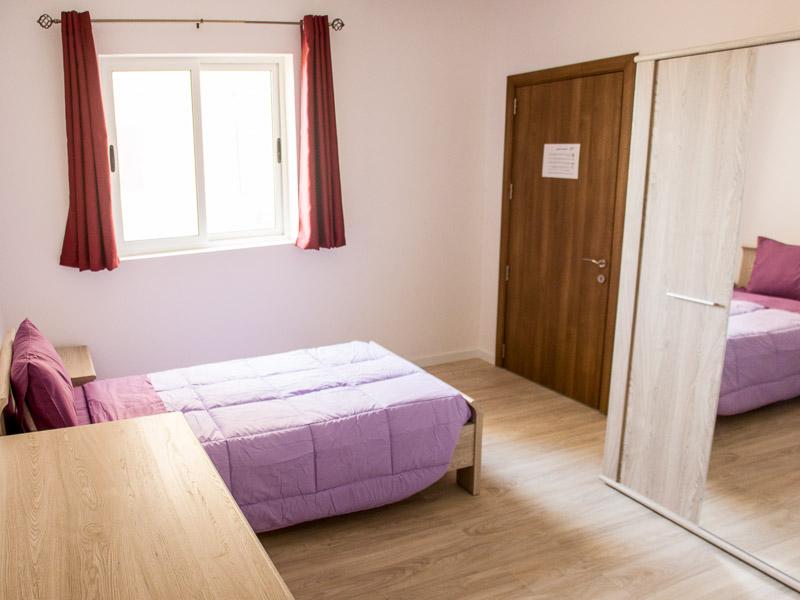 Jednolůžkový pokoj v apartmánu Maltalingua