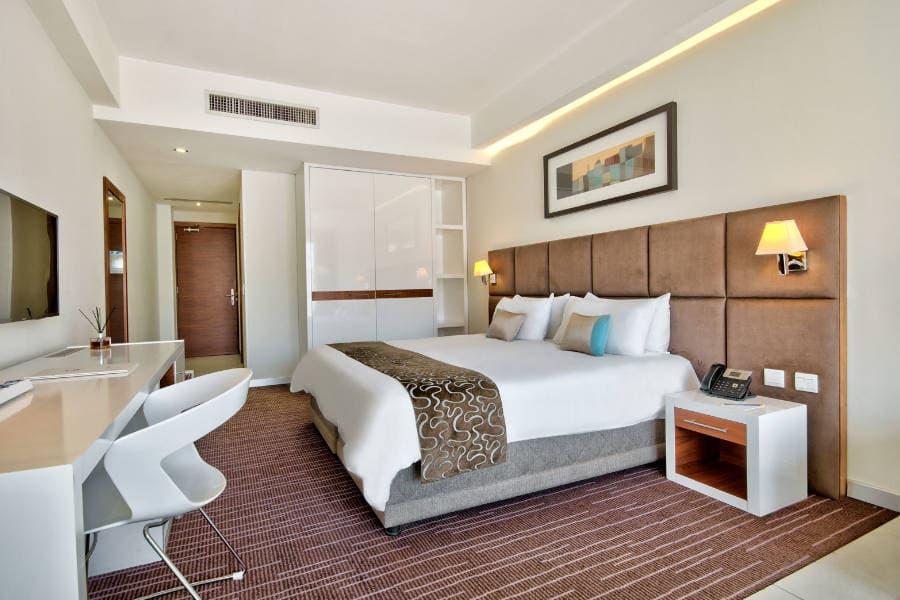 Hotel George ložnice