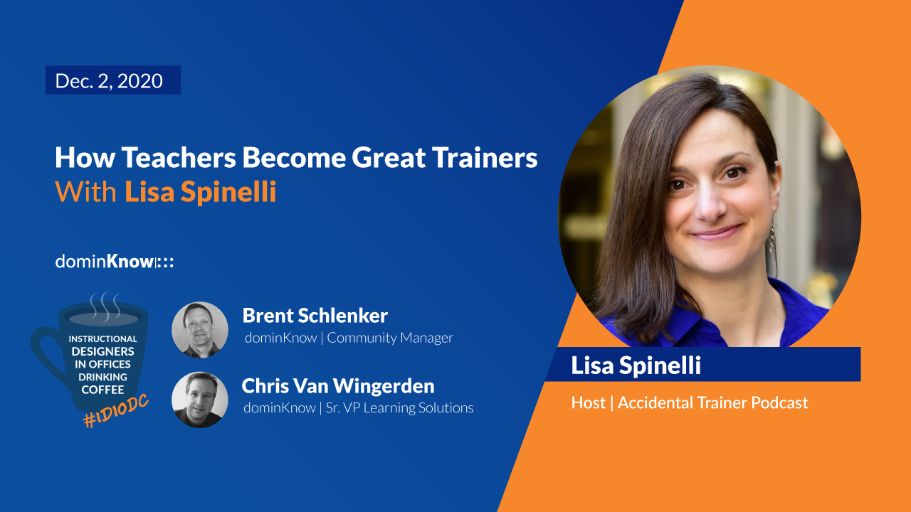 How Teachers Become Great Trainers with Lisa Spinelli