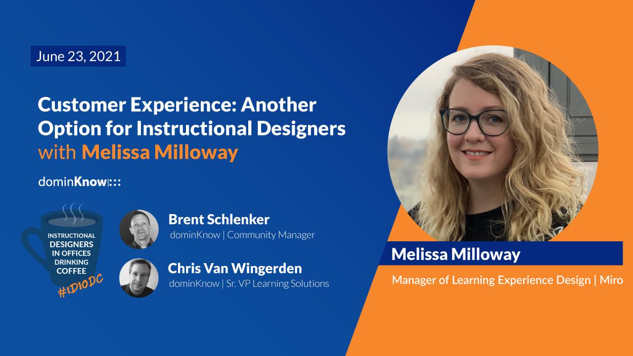 On June 23 Melissa Milloway joins IDIODC