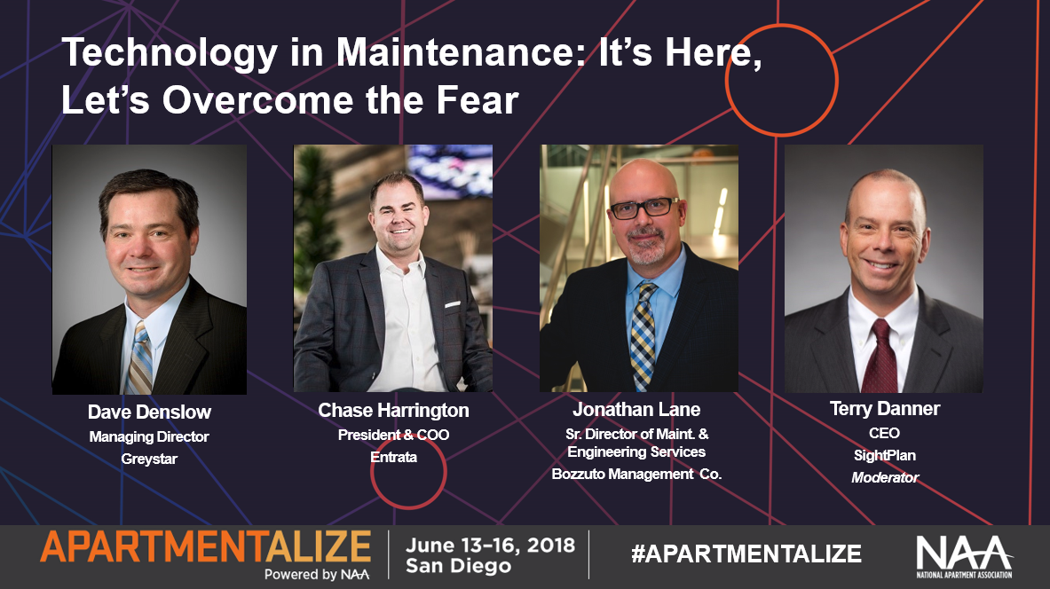 NAA Apartmentalize Technology In Maintenance