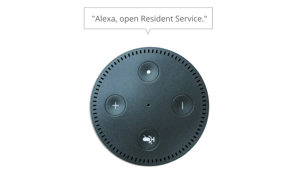 Amazon Alexa Smart Apartment Technology