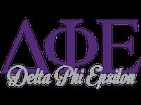 Delta Phi Epsilon Logo