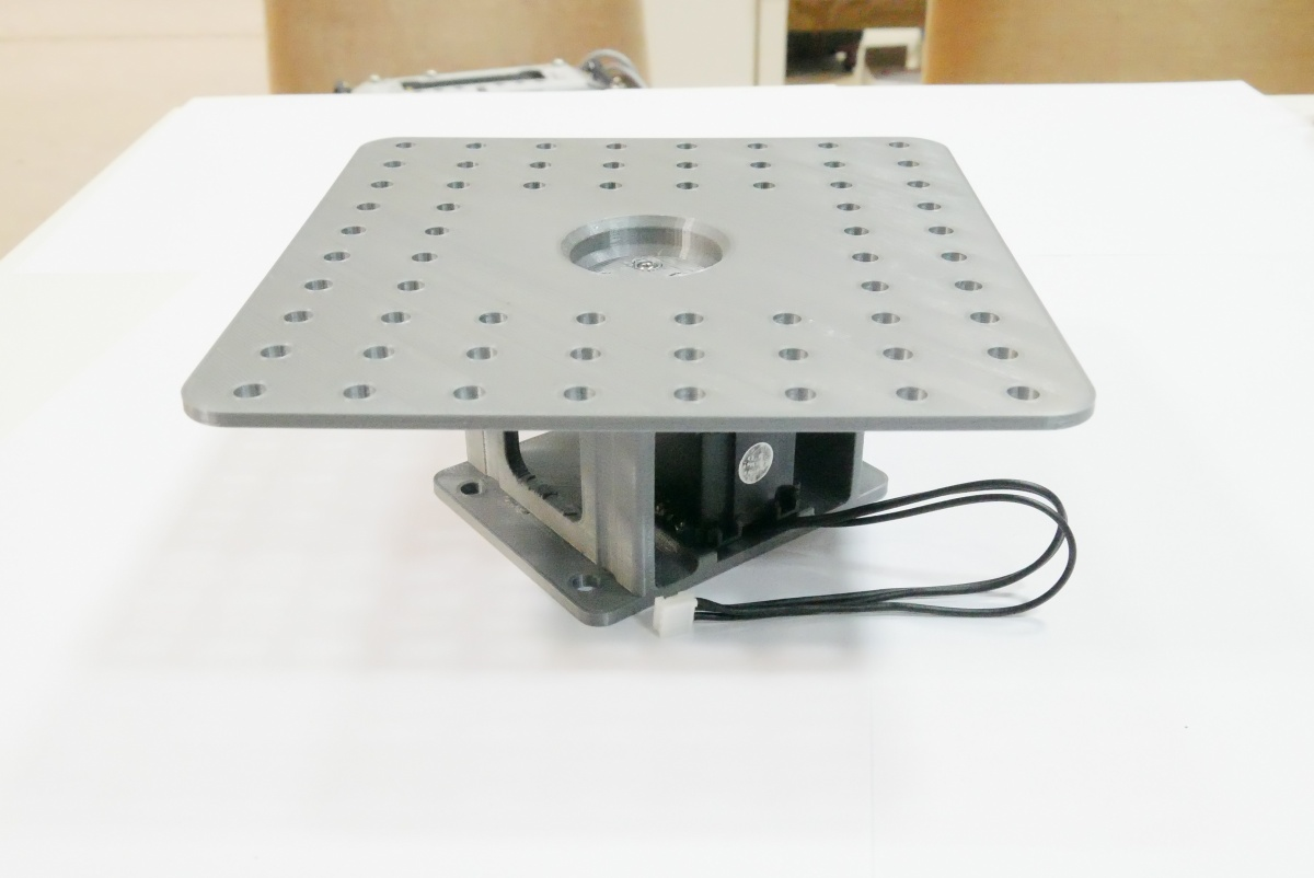 rotating platform servo