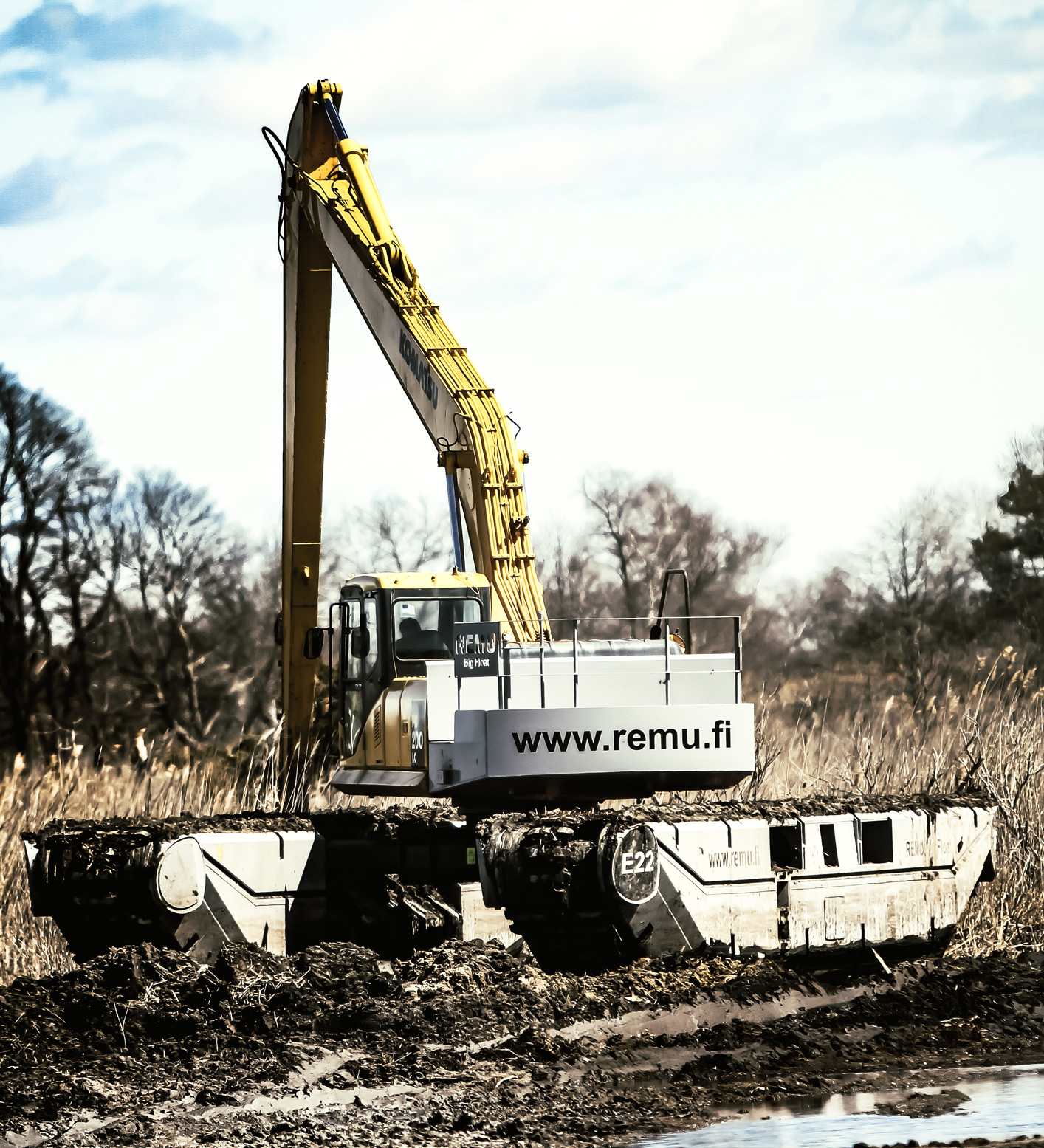 Environmental Restoration Project REMU dredgers