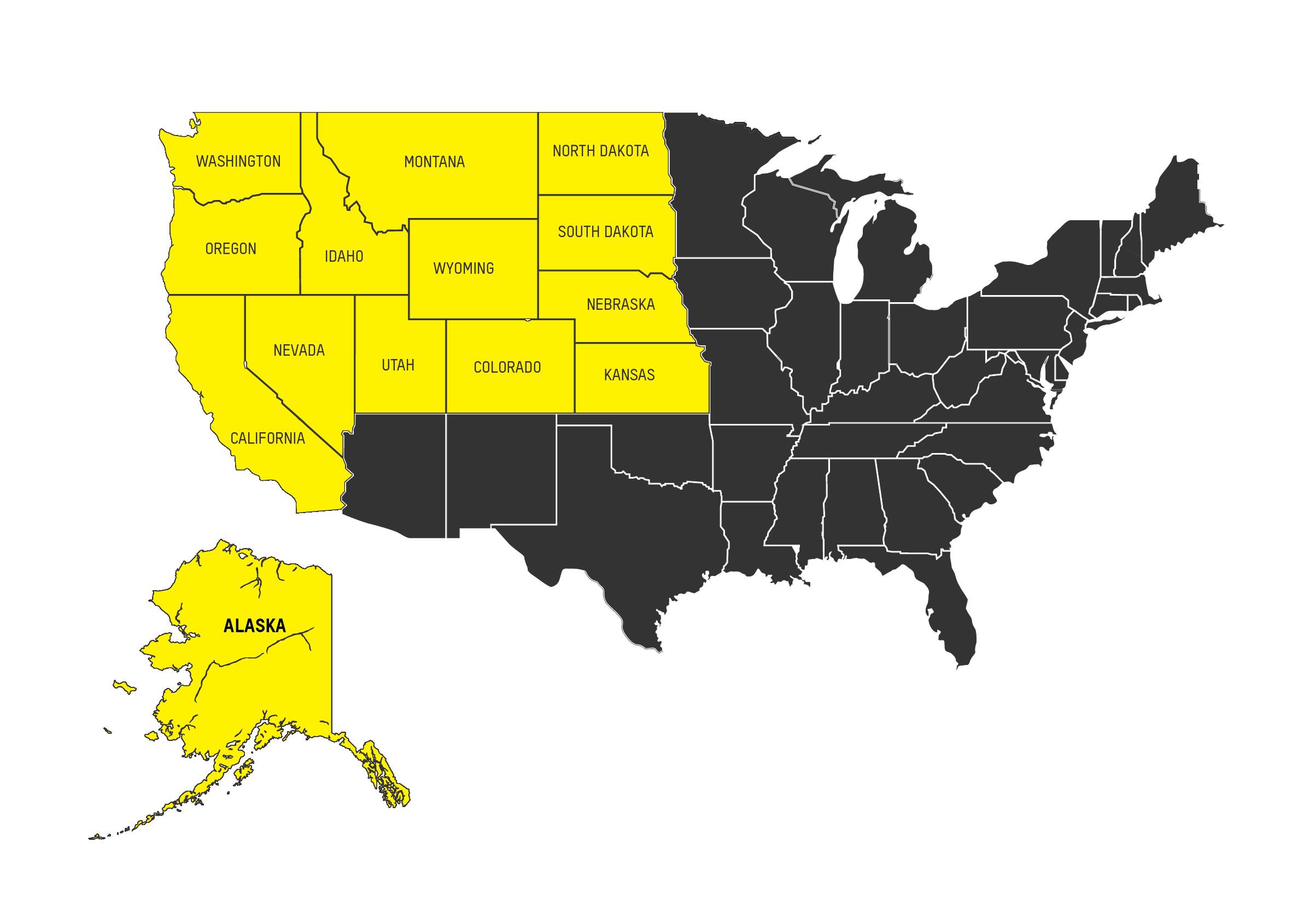 Alaska and North America Thomas