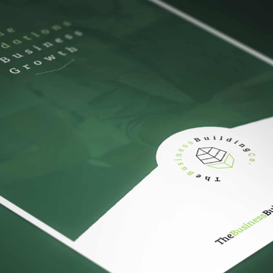 Branding and graphic design for Business Building Co. in Perth