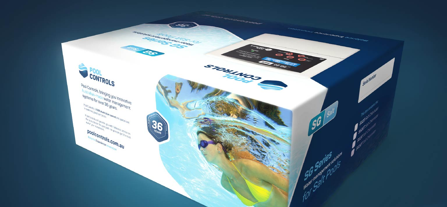 Packaging design for Pool Controls in Balcatta | Perth